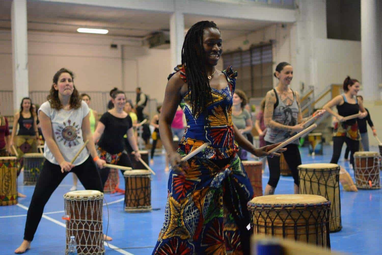 Stage di danza su tamburi bassi con Solo Diedhiou e Lancei Dioubate