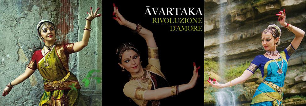 Spettacolo di teatro-danza indiano Āvartaka