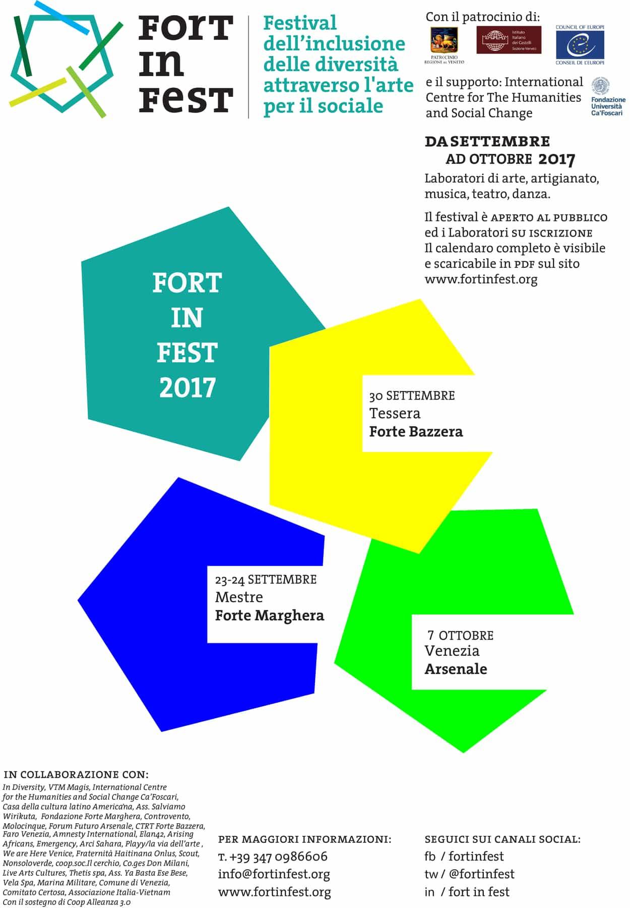 PROGRAMMA FORT IN FEST Seconda Edizione 2017