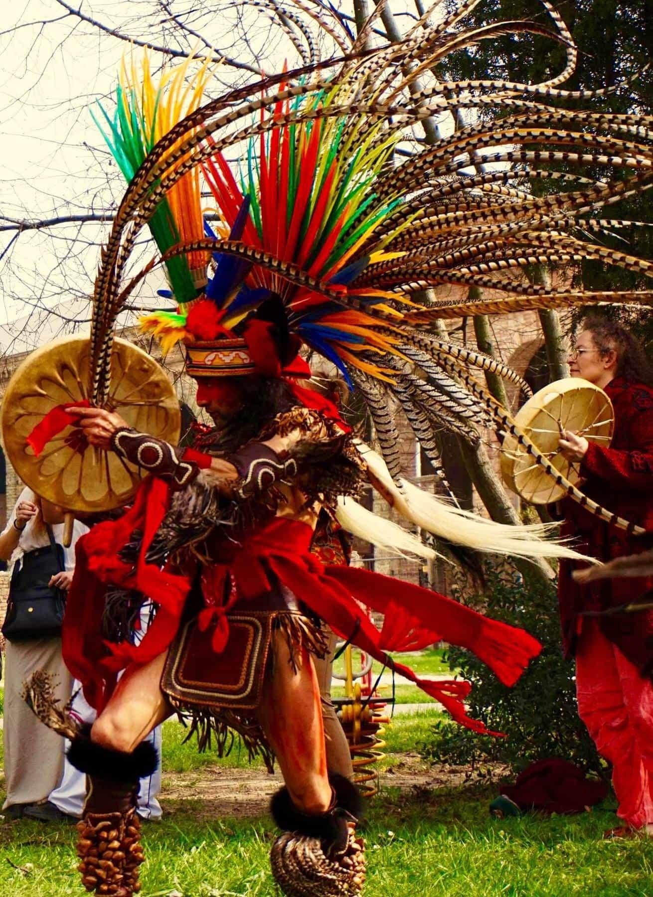Danza cerimoniale e rituale azteca