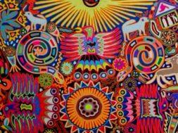 cdb239dcda8ef1730c9d676a29777e62–mexican-crafts-huichol-art