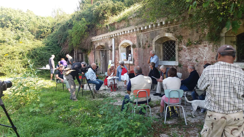 Passeggiata patrimoniale e storica alla Batteria Casabianca e Forte Emo