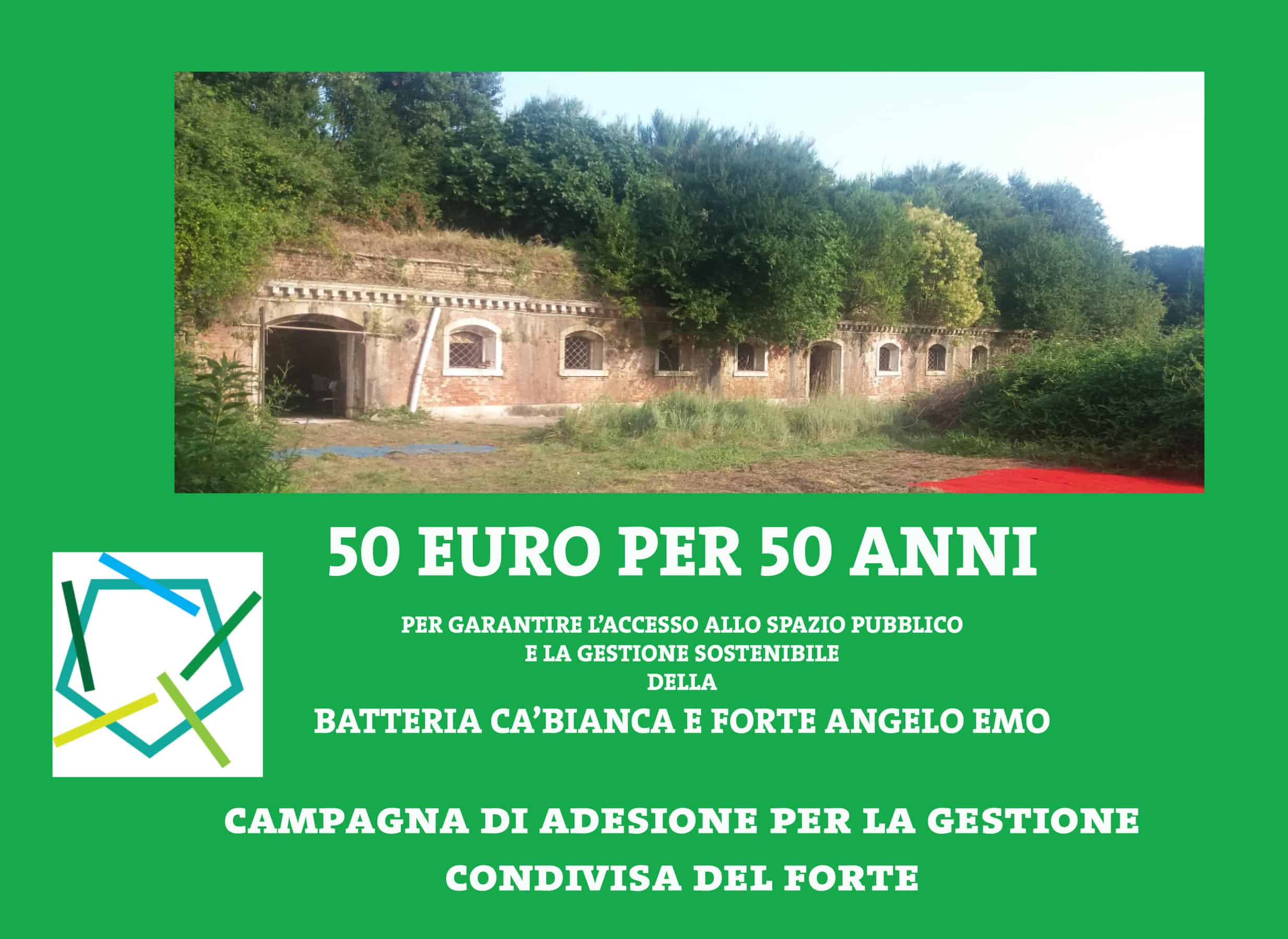 CROWD FUNDING CAMPAIGN 50 EURO FOR 50 YEARS