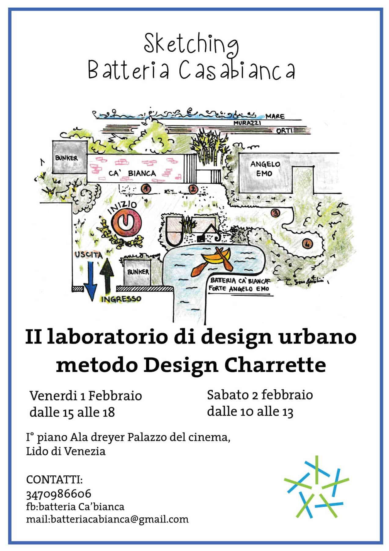 Sketching Batteria Casabianca: II laboratorio di design urbano