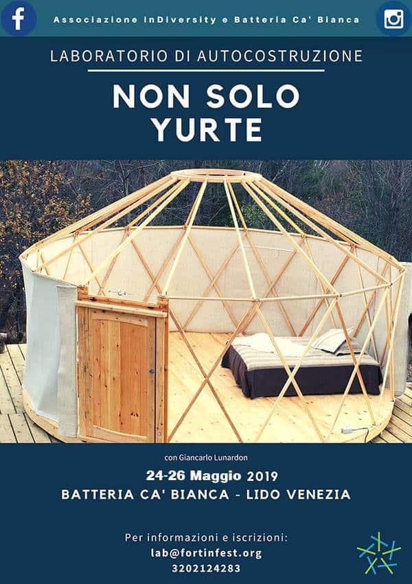 NON SOLO YURTE: laboratorio di auto-costruzione di una Yurta