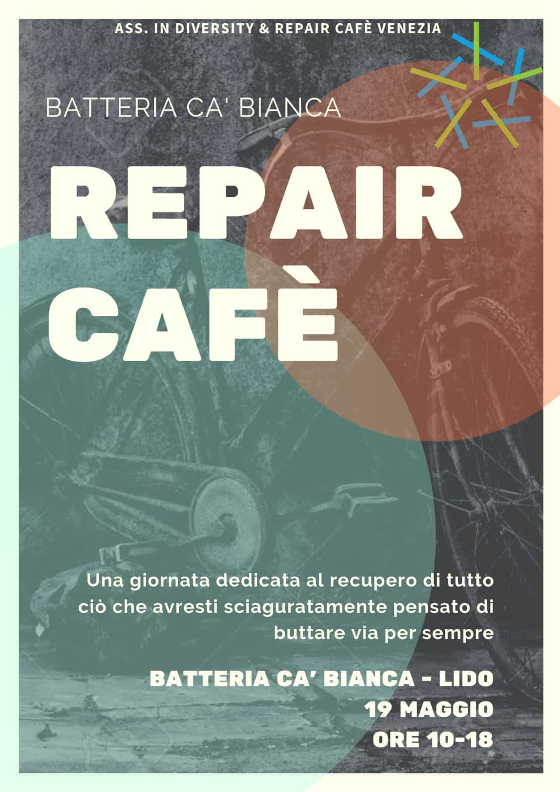 Repair Cafè alla Batteria Casabianca Angelo Emo