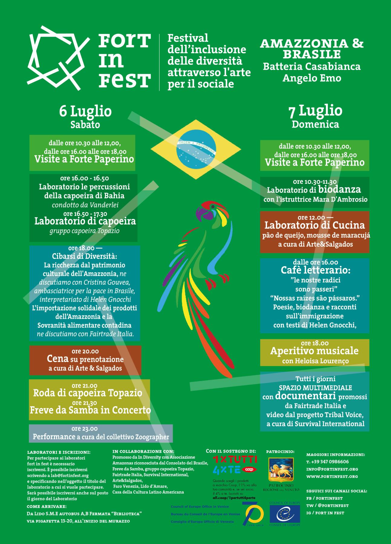 FORT in FEST: Amazonia & Brazil