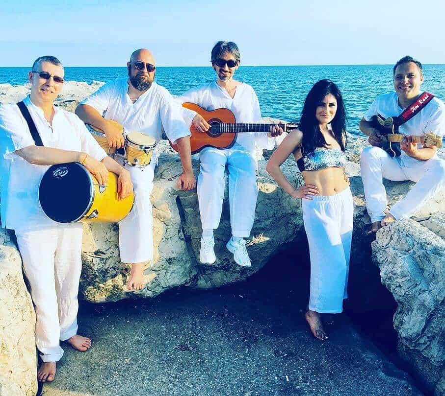 Roda de Capoeira e Freve da Samba in concerto