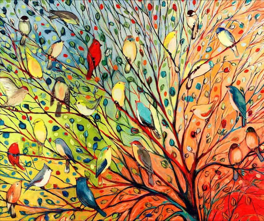 """Biodance b  the sea and Cafè letterario: """"Nossas raizes são pássaros"""""""