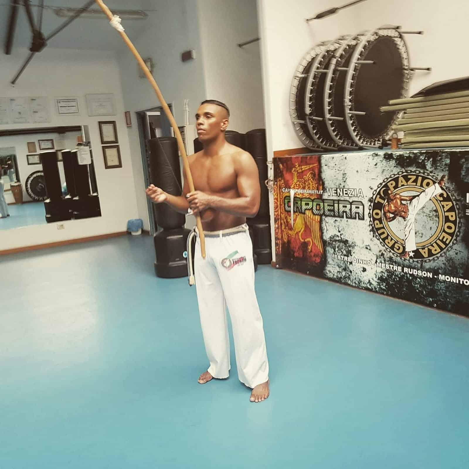 Laboratorio introduttivo di Capoeira Topazio in natura