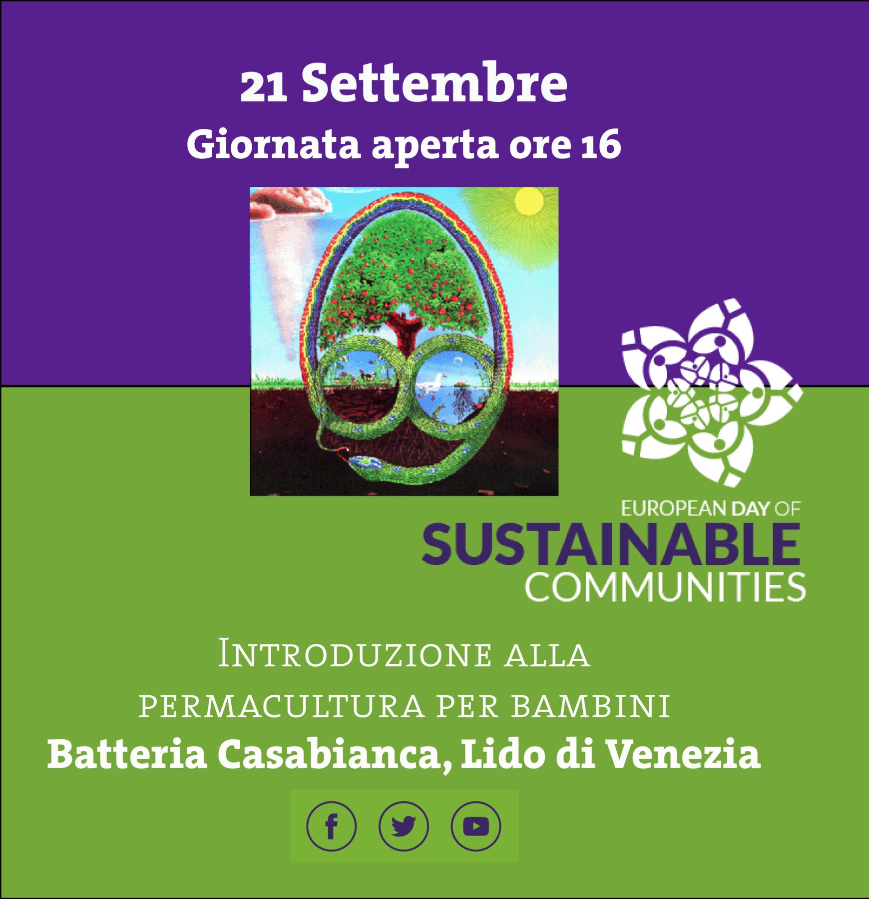21Settembre Giornata delle comunità sostenibili #EDSC19