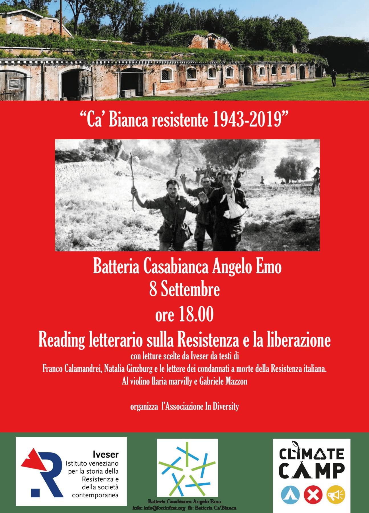 CA'BIANCA RESISTENTE 1943/2019