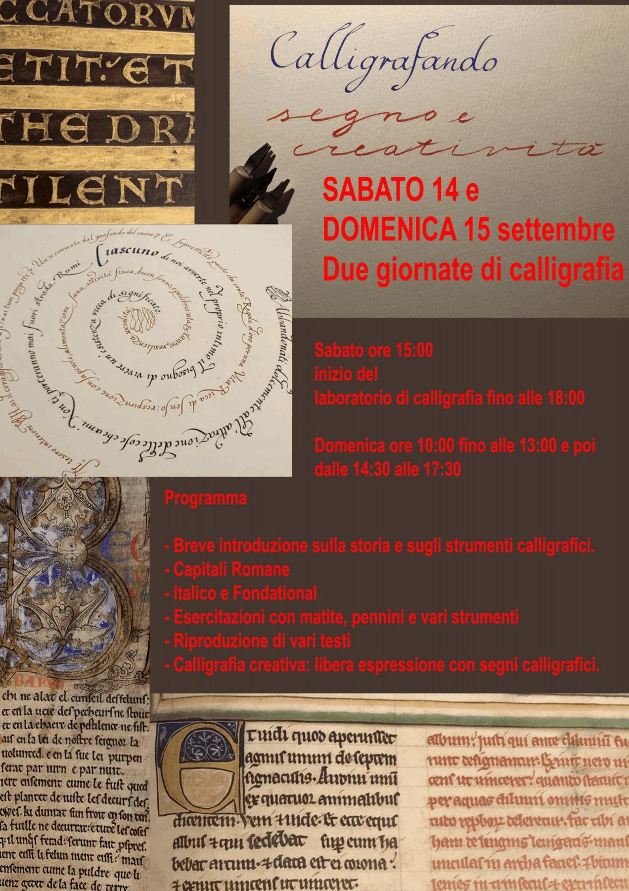 CALLIGRAFANDO segno e creatività Anita Cerpelloni