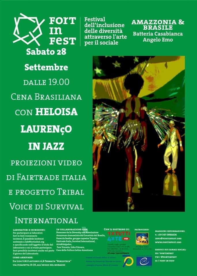 FORTinFEST Amazzonia con Heloisa Laurenco in Jazz